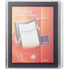 Avery 3 Ring View Binder Black With Photos Prices