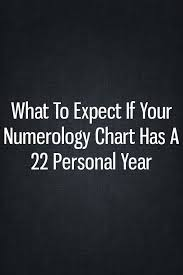 What To Expect If Your Numerology Chart Has A 22 Personal