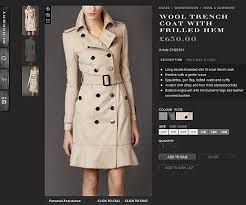 Burberry Sizing Charts Trench Coats Kate Middleton Burberry Sells Out Of The Beige Trenchcoat