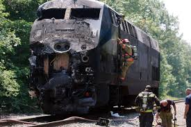 Police conclude truck driver distracted before Amtrak crash - The Boston  Globe