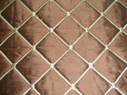Silk Fabrics,Silcraft,Avon Silks,#1 Textiles & #1 Textiles Quilted Embroidered Silk - Brown Adamdwight.com