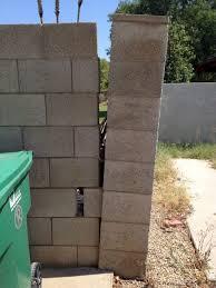 cinder block wall repair.  Cinder Cinder Block Wall Repair Throughout D