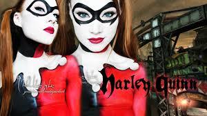 harley quinn batman makeup body paint tutorial madeyewlook