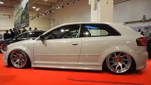 Audi A3 8P 2004 1.6L 106PS, H&R 140mm Gewindefahrwerk, RS3 ...