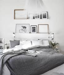 House Tour: Mixing Scandinavian Style and Pastels in a Kiev Apartment. White  Grey BedroomsGrey ...