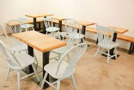 restaurant tables restaurant design custom furniture and fabrication at five four wood steel is a