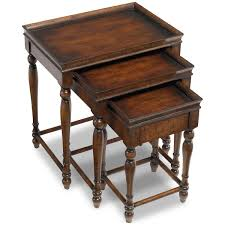 Nesting Tables Amazoncom Hooker Furniture Seven Seas Three Nesting Tables