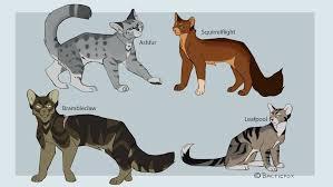 Unique Warrior Cat Designs Warrior Cat Designs 1 By Balticfox Deviantart Com On