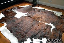 brindle cowhide fabric