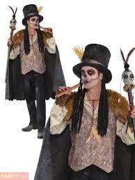 mens witch doctor voodoo man costume plus