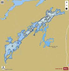 Ontario Nautical Charts Lorimer Lake Fishing Map Ca_on_lorimer_lake_on