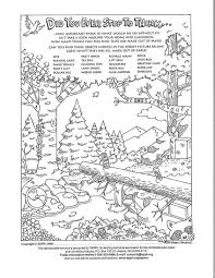 In hidden object picture puzzles, the challenge is to find and identify all the hidden objects. Paper Hidden Objects Puzzles Idaho Forests Products Commission