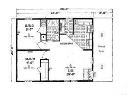 Single Wide Mobile Home Floor Plans 2 Bedroom 2 Bedroom Ranch Plans