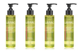 lierac cleansing oil makeup remover for face eyes 5 oz pack of 4