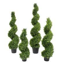 artificial shrubs outdoor uk. artificial cedar spiral shrubs outdoor uk