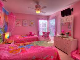 Princess Girls Bedroom Bedroom Disney Princess Room Decor With Pink Comfort Bed Also