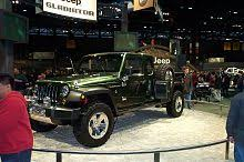 2005 jeep gladiator edit