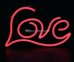 light up letters for wall large illuminated love letters words handmade custom led neon open neon