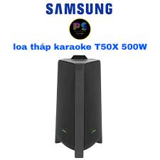 Loa Tháp karaoke Samsung T50/XV 500W tặng 1 bộ mic không dây cao cấp 1200k  - Dàn âm thanh Nhãn hàng SAMSUNG