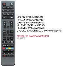VESTEL NEXON FİNLUX LED TV TELEVİZYON KUMANDASI VESTEL TV KUMANDASI NEXON TV  KUMANDASI FİNLUX TV KUM Fiyatı ve Özellikleri - GittiGidiyor