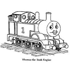 Printable thomas and friends colouring pages. Top 20 Free Printable Thomas The Train Coloring Pages Online