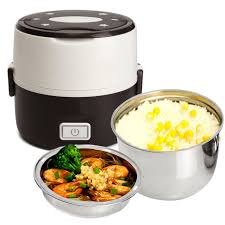 electric steam cooker.  Steam Stainless Steel Liner Rice Cooker Electric Heating Food Box Mini  Steamer Container Thermal LunchBox Picnic Bentoin Dinnerware Sets From Home  Throughout Steam R