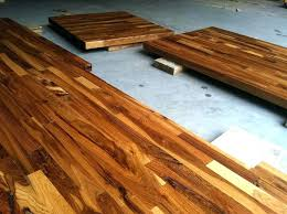 how to seal butcher block countertops do you staining and sealing new