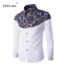 Pattern Shirts Stunning 48 Color 48 New Summer Men's Casual Shirt China Style Decorative