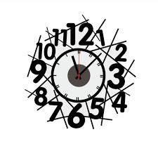 art nouveau wall clock 2016 hot ing new creative diy wallpaper digital wallpaper clock