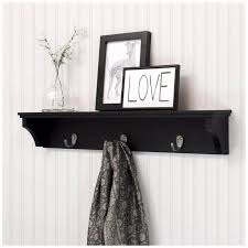 Black Wall Coat Rack Coat Racks astonishing wall coat racks with shelf wallcoatracks 3