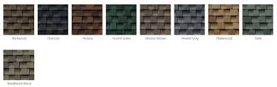 Gaf Timberline Hd Color Chart Gaf Timberline Hd Vs Tamko Heritage Vintage Roofing Review