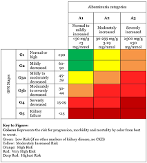 Kidney Disease Stages Chart Estimated Glomerular Filtration Rate Egfr National