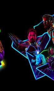 1280x2120 Avengers Infinity War 80s ...