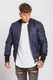 er jacket blue camo