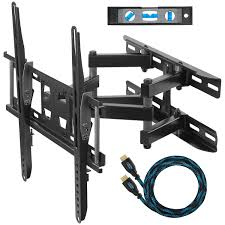 Tv wall mouns Curved Cheetah Mounts Dual Articulating Arm Tv Wall Mount Bracket For 2065 Tvs Up Souqcom Cheetah Mounts Dual Articulating Arm Tv Wall Mount Bracket For 2065