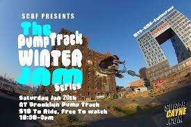 winter jam flyer 2018 scbf pump track winter jam bkbp 1 20 18 sugar cayne bike fest