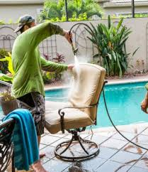 patio furniture cleaning instructions