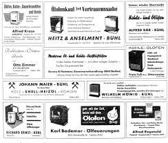 Haas Und Sohn ölofenprospekt 60er Jahre Wwweichwaelderde