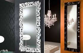 Small Picture Large Wall Mirrors for Wider and Spacious Bedroom Look