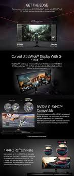 lg 144hz monitor. lg 34uc89g-b 34inch curved ultrawide g-sync ips gaming monitor lg 144hz m