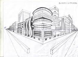 perspective drawings of buildings. Exellent Buildings Two Point Perspective Drawing Buildings 2 Pt Lesson Plan   Art Projects Http In Drawings Of
