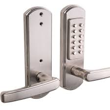 Door. Lovely Keyless Front Door Lock Design Creative: Keyless Front ...