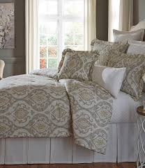Southern Living Bedroom Southern Living Almira Medallion Comforter Mini Set Taupe