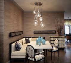 Multi Pendant Lighting Kitchen Cool Dinette Chairs In Dining Room Beach Style With White Kitchen