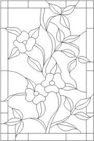 Stained Glass Flower Patterns Custom 48 Best STAINED GLASS BOTANICALS Images On Pinterest In 48