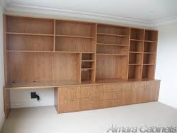 study office wall units bookshelves melbourne