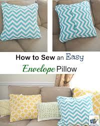 Easy Envelope Pillow Cover