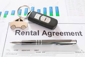 Signing Car Rental Agreement Contract Stock Photo, Picture And ...