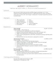 Libreoffice Resume Template Unique Resume Templates For Office Sample Word Executive Assistant Resume