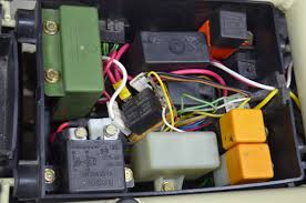 k re wiring my bmw k retro customization switched voltage to the auxillary fuse panel that i ve added to the right side of the relay box this 30a relay receives its power from the battery